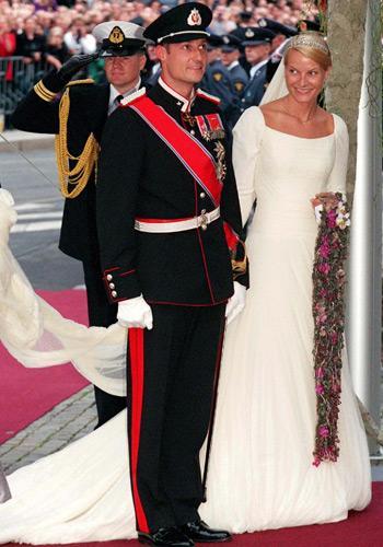 Le prince Haakon et Mette-Marit