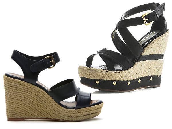 espadrilles talons compens s cher vs bon march. Black Bedroom Furniture Sets. Home Design Ideas