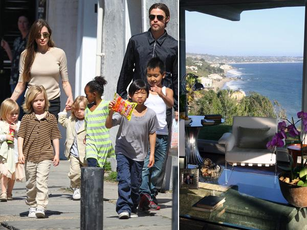 Brad Pitt vend sa maison de vacances