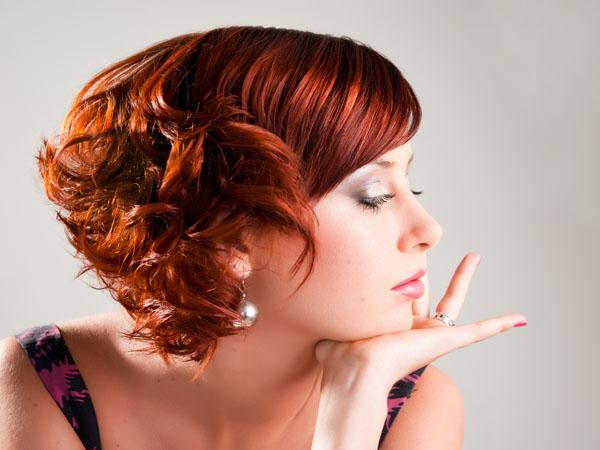 укладки на средние волосы фото