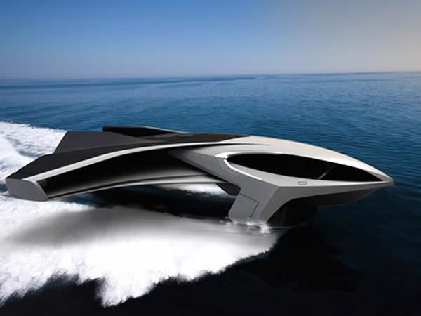 Un yacht de luxe capable de voler