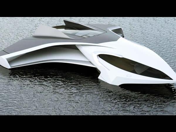 un yacht de luxe capable de voler. Black Bedroom Furniture Sets. Home Design Ideas