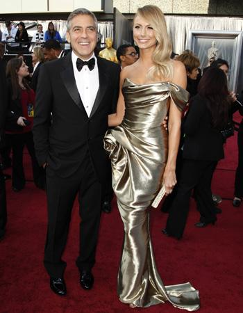 George Clooney en Stacy Keibler