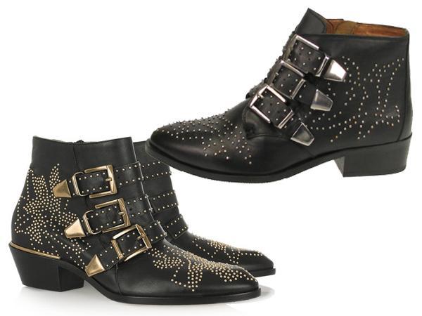Boots Cloutees Un Look Chic A Petit Prix