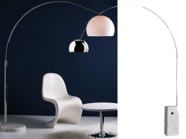 arco lamp cheap vs chic les classiques du design et. Black Bedroom Furniture Sets. Home Design Ideas