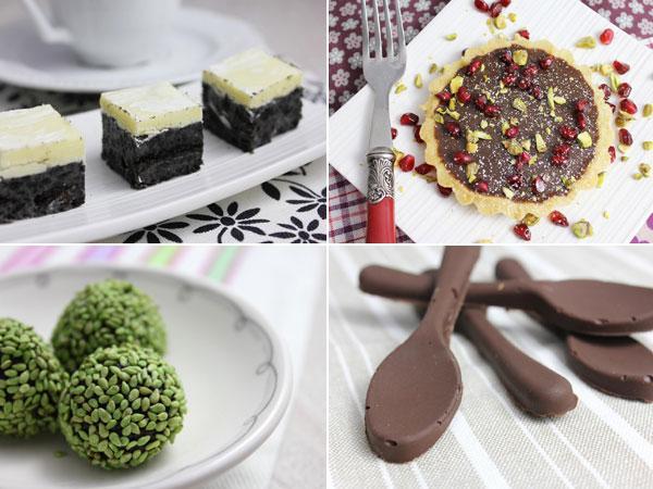 Le chocolat dans tous ses états : recettes et livres