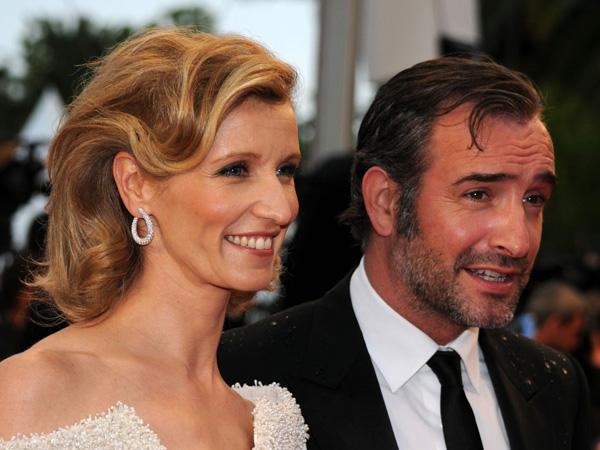 Jean dujardin en alexandra lamy de mooiste koppels in cannes for Dujardin height