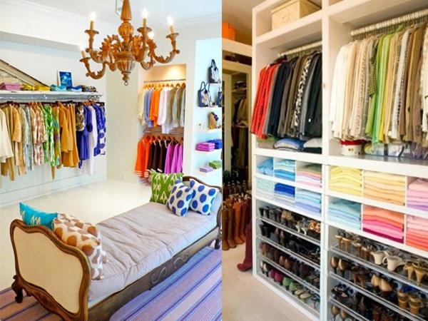 Kleuren rangschikken tien tips voor een ordelijke kledingkast for Maak een kledingkast