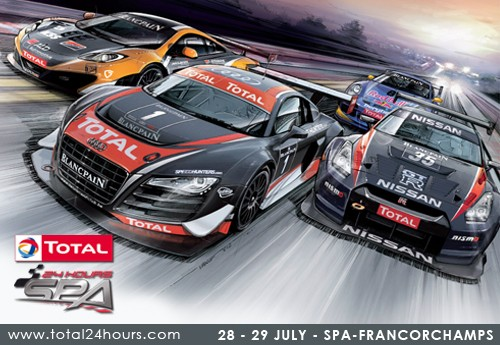 Win tickets voor de Total 24 hours of Spa