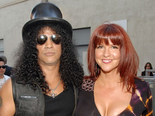 Slash et Perla Farrar