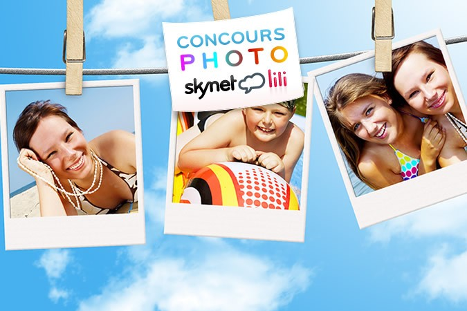 Grand concours vacances Skynet Lili !