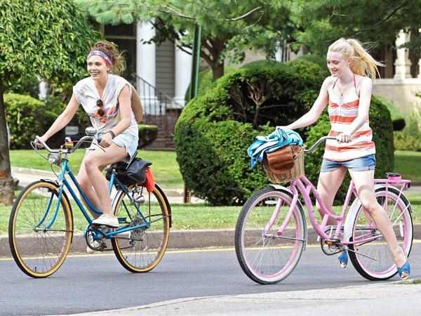 Stijlvol fietsen zoals de sterren