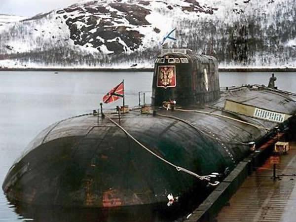 Un sous-marin russe menace de causer un désastre nucléaire