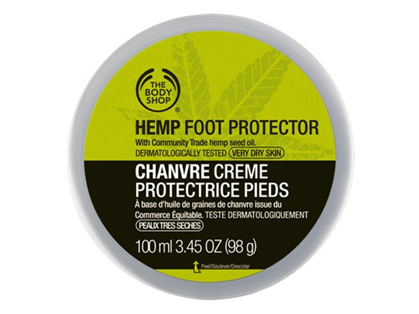 the body shop cr me protectrice pour les pieds soins bio pour le corps. Black Bedroom Furniture Sets. Home Design Ideas