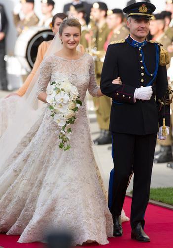 La mariée - Un mariage princier au Luxembourg