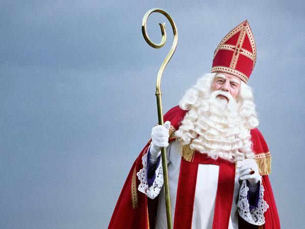 Op bezoek bij Sinterklaas