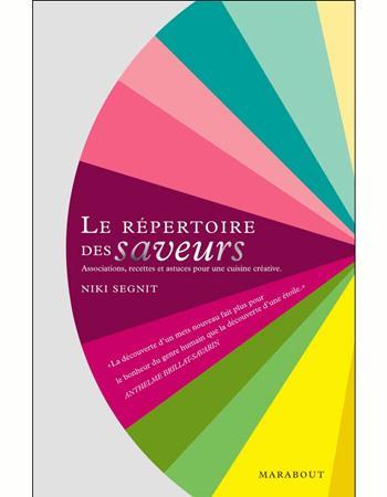 Le r pertoire des saveurs de niki segnit 7 livres de for Le repertoire de la cuisine