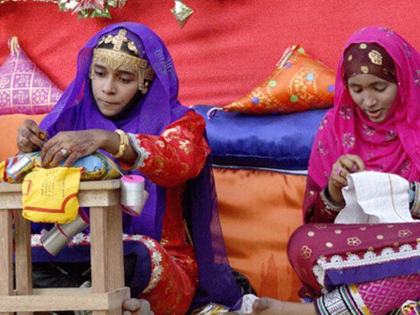 Ibra Oman  city photos gallery : Le marché réservé aux femmes d'Ibra