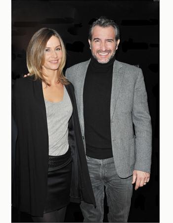 Jean dujardin et c cile de france un couple glamour for Jean dujardin et sa nouvelle copine
