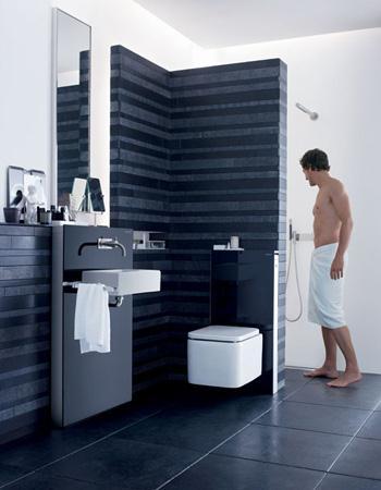 des mat riaux de qualit derni res tendances pour votre salle de bains. Black Bedroom Furniture Sets. Home Design Ideas
