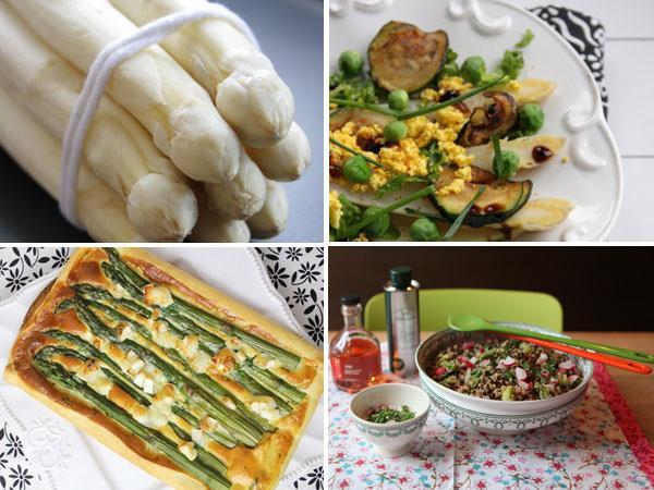 Asperges, 5 recettes et bonnes tables