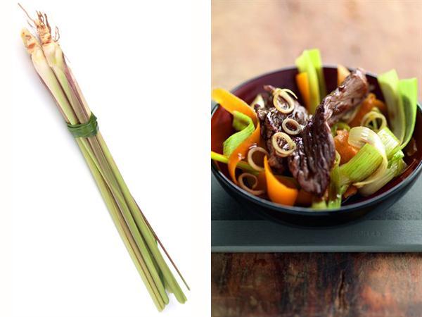 Wok De Bœuf Aux Légumes Nouveaux à La Citronnelle Facile Et Rapide