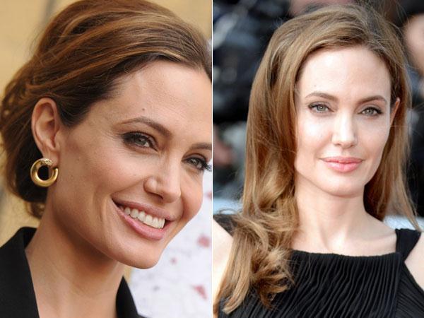 Le visage rectangulaire d 39 angelina jolie quelle coiffure pour quel type de visage - Quelle coiffure pour quel visage ...