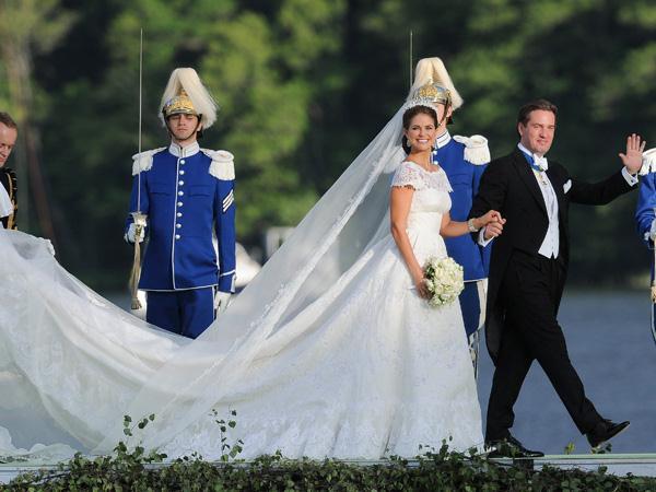 Banket Prinses Madeleine In Het Huwelijksbootje In Zweden