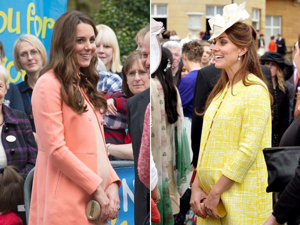 De zwangerschap van Kate Middleton
