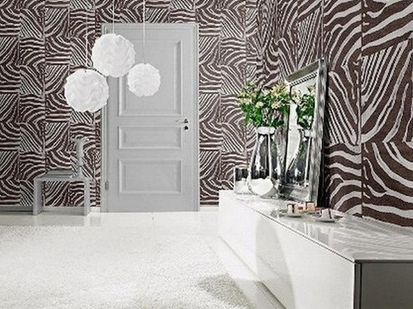 imprim s animaliers rev tements muraux derni res tendances. Black Bedroom Furniture Sets. Home Design Ideas