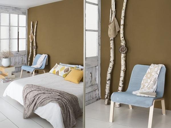 kaki rev tements muraux derni res tendances. Black Bedroom Furniture Sets. Home Design Ideas