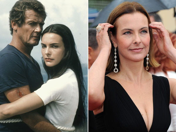 carole bouquet le carr impeccable la coupe au carr s duit les stars. Black Bedroom Furniture Sets. Home Design Ideas