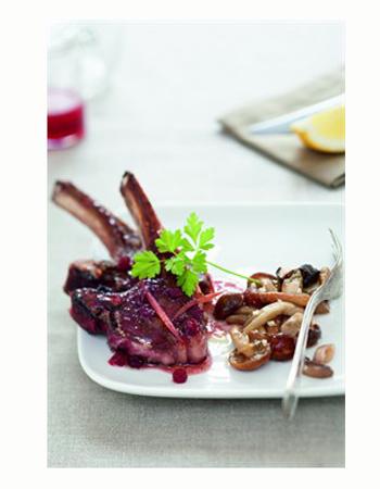 C telettes de chevreuil aux airelles cuisiner le gibier - Cuisiner gigot de chevreuil ...