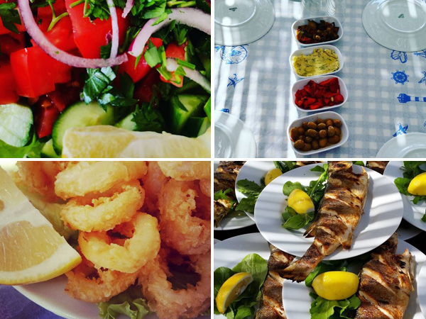 Saveurs De La Cuisine Turque Kusadasi Station Balneaire Sur La