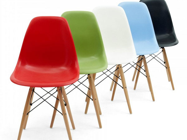 Eames stoelen hedendaagse retro inrichting for Ray eames stoelen
