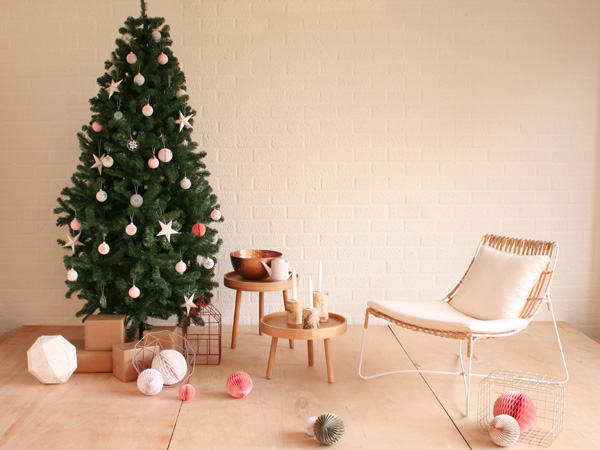 no l scandinave d coration de no l toutes les tendances. Black Bedroom Furniture Sets. Home Design Ideas