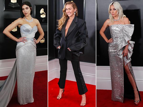 De rode loper van de Grammy Awards