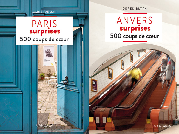Guides Mardaga : Paris surprises & Anvers surprises