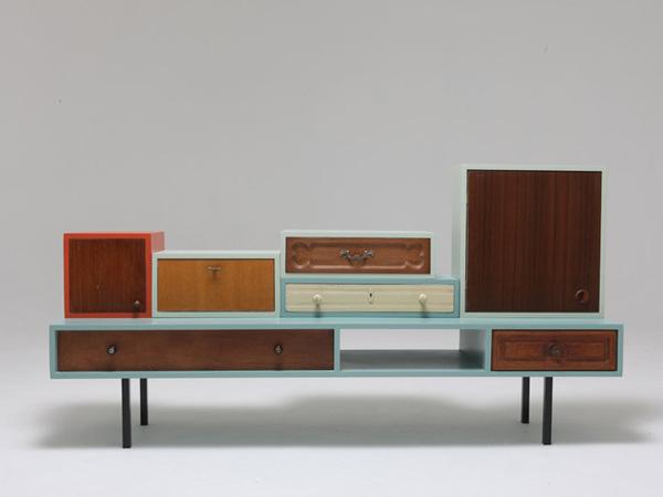 Hopop studio gerecycleerde meubels 10 originele labels - Meubels studio ...