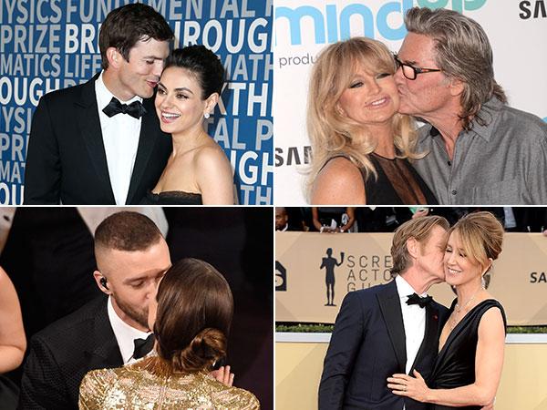 Témoignage d'amour: les people amoureux