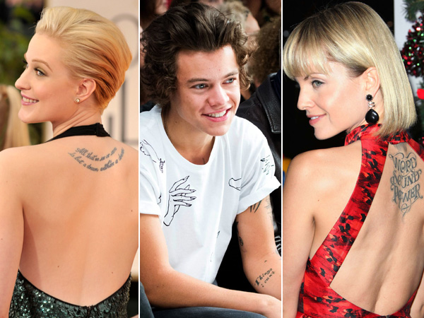 Que signifient les tatouages des stars ?