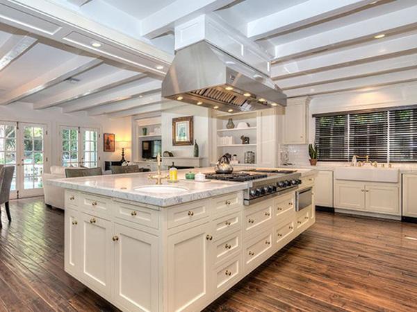 Keuken de nieuwe amerikaanse villa van adele
