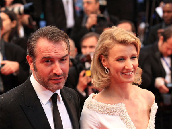 Jean dujardin et alexandra lamy coeurs de stars bris s for Lamy dujardin