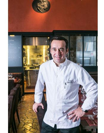29 mars : Serge Labrosse du restaurant Le Flacon au Wy Brussels