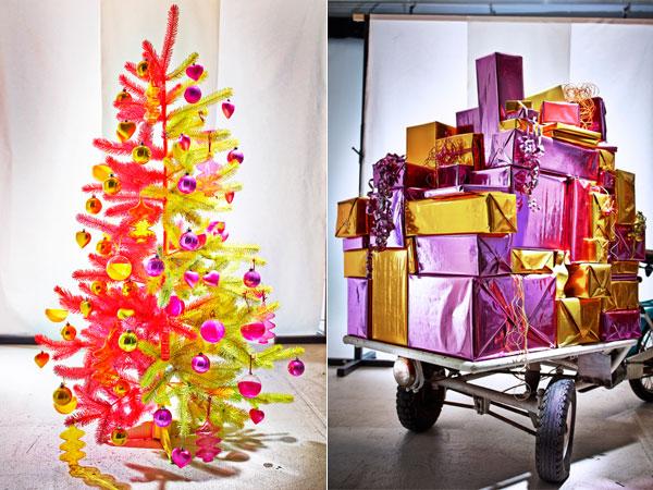 Felle kleuren trends in kerstdecoratie - Felle kleuren ...