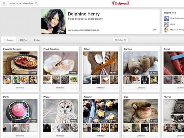 Pinterest: inspirez vos lecteurs grâce à vos tableaux thématiques