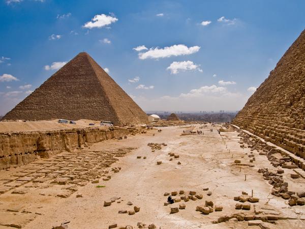 de piramides, egypte - tien must sees in afrika - skynet.be