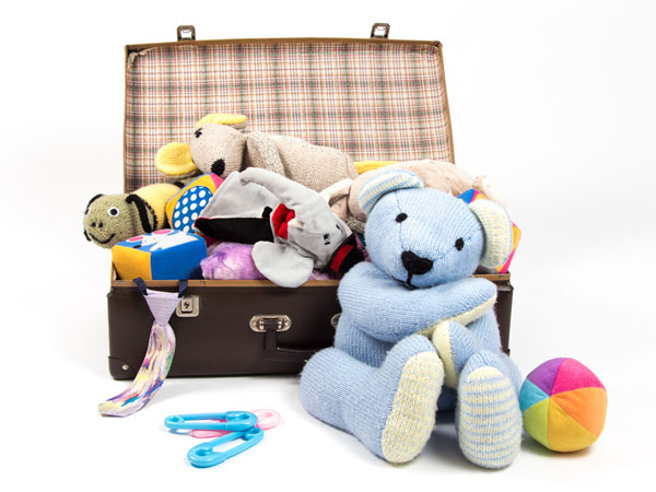 Un sac de jouets