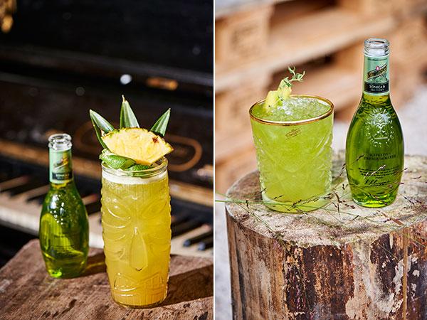 Schweppes Tonic Matcha cocktails