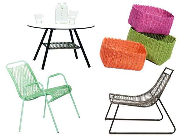 meubles en scoubidou embellir le jardin avec les nouvelles tendances. Black Bedroom Furniture Sets. Home Design Ideas